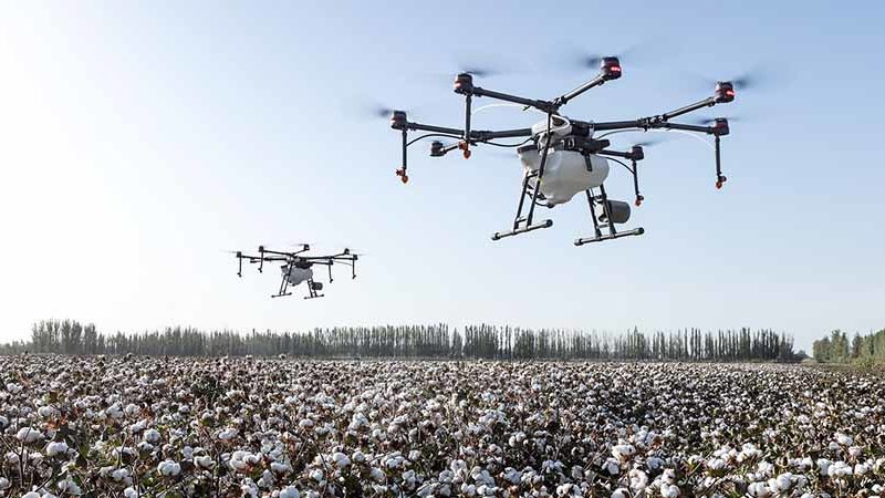 Taking Drones in Agriculture to the Next Level