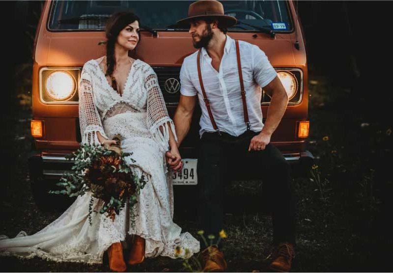 American couple wears