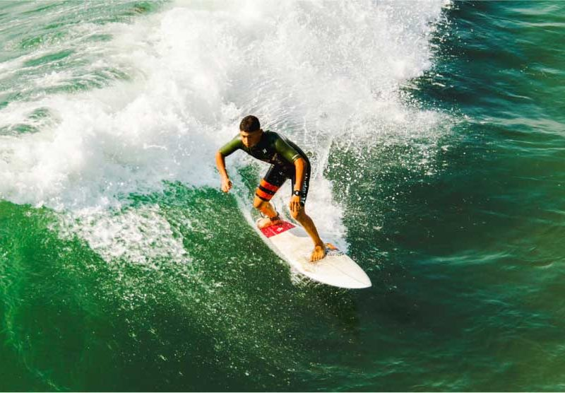 Surfboard floated from Hawaii to Goa