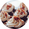 Cupcakes Dessert frosting food